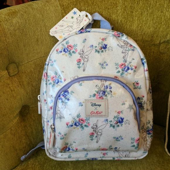 b95fcee7ace8 Cath Kidston Disney Tinker Bell Mini Backpack
